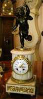French 8 Day Mantel Clock