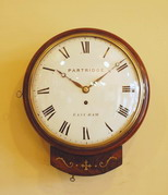 Partridge wall clock fusee 10inch