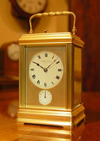 Birch And Gaydon Carriage Clock