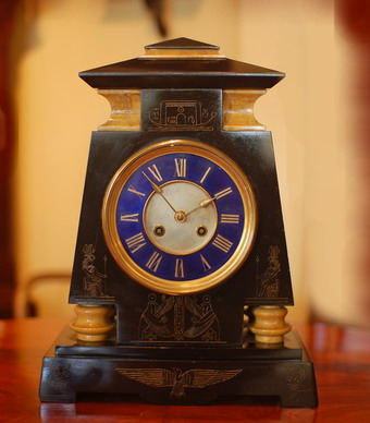 Egyption Revival Mantel Clock