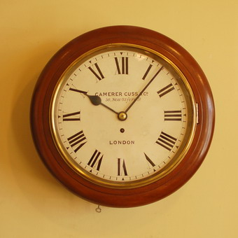 Camerer Cuss And Co 12 Inch Wall Clock