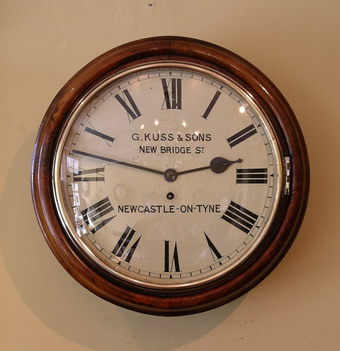 G.Kuss and Sons Wall clock Large images